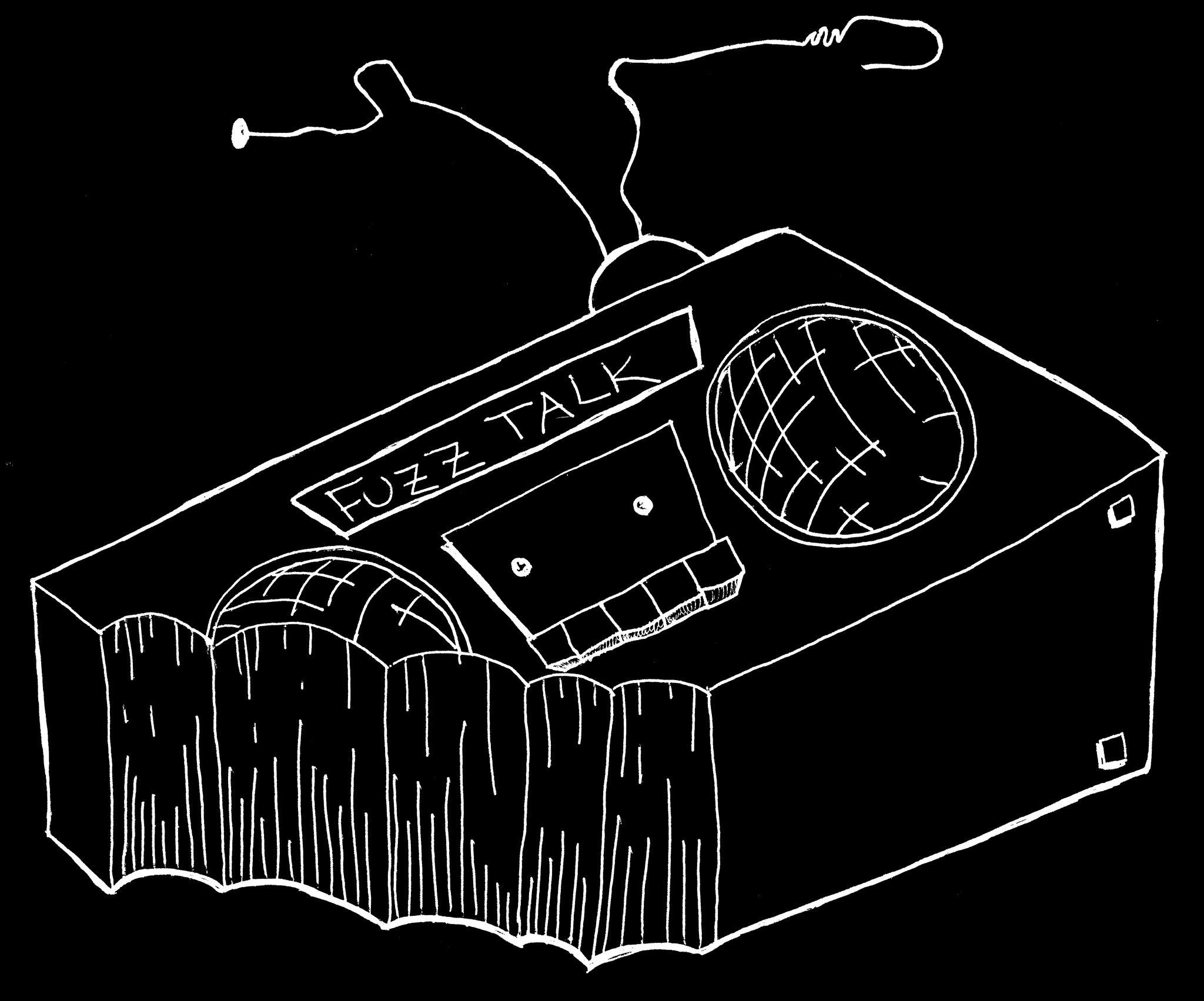 FuzzTalkRadio Logo